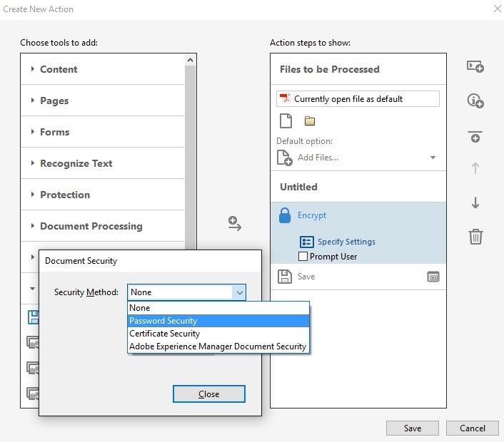 Secure Multiple PDF Files - TC-IT Services