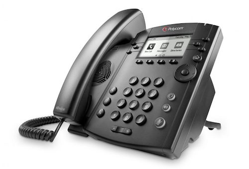 Polycom VVX 410 Phone To Factory Default